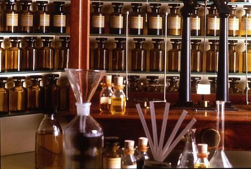 Концентрация эфирных масел в парфюмерии