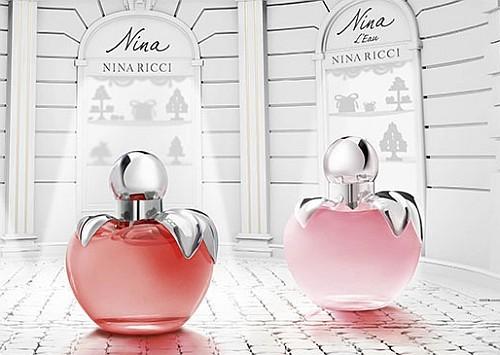туалетная вода Nina и Nina L`Eau от Nina Ricci