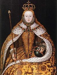 Elizabeth I of England - коронационный портрет