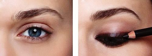 классический макияж Smoky eyes