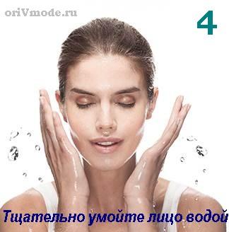 Аппарат для очищения кожи лица SkinPro - применение (шаг 4)
