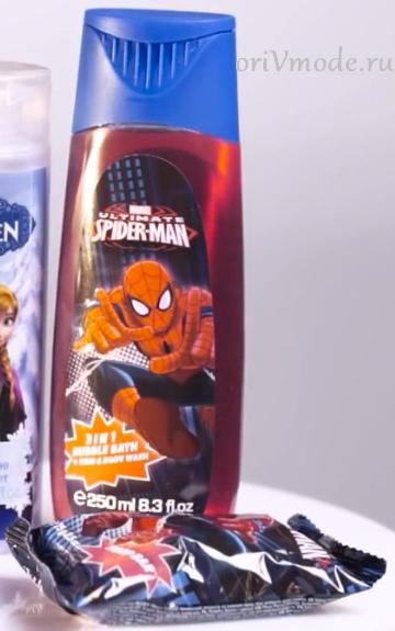 Детская коллекция для ванны SpiderMan