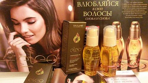 Мои покупки: масла для волос Элео от Орифлейм (Eleo Oriflame)