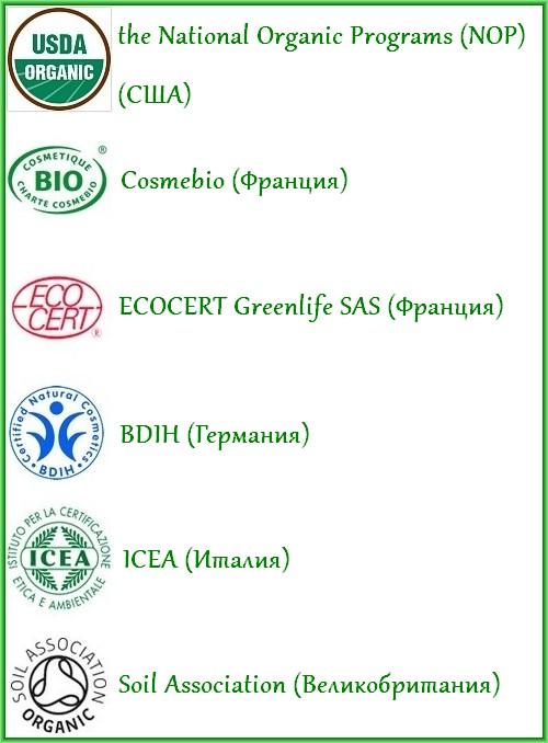 системы сертификации органической продукции