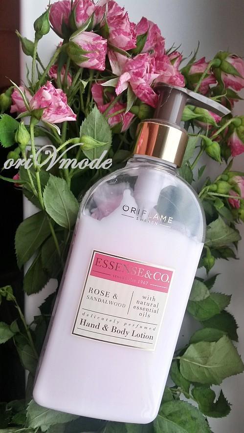 Лосьон для рук и тела Essense & Co с розой и сандалом от Орифлэйм