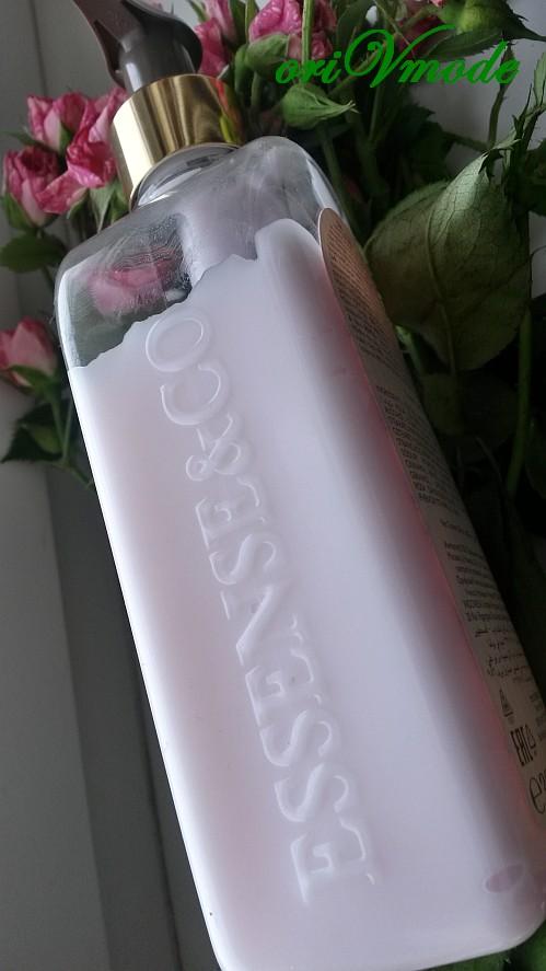 Название серии Essense & Co на боковой стороне флакона