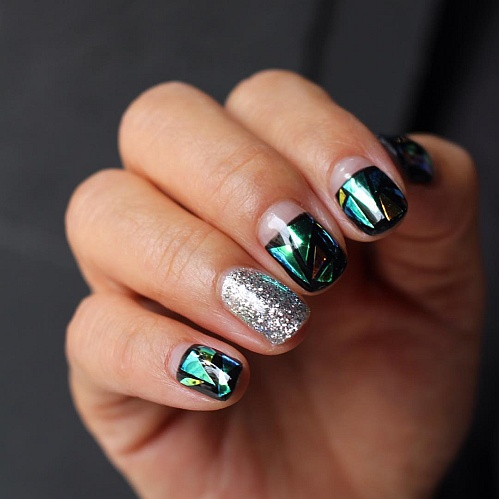 #Glassnails пример 9