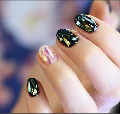 #Glassnails пример 1