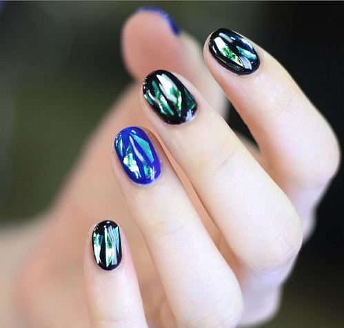 #Glassnails пример 3