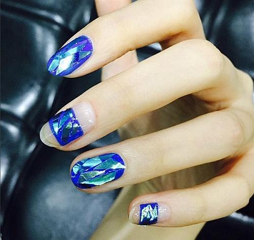#Glassnails пример 10