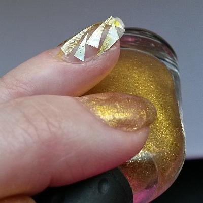 стеклянные ногти гладкое покрытие