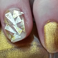 стеклянные ногти