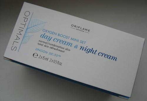 Набор мини-кремов для нормальной/комбинированной кожи Активный кислород