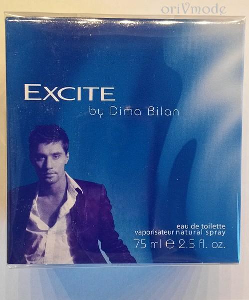 синяя коробка парфюма Dima Bilan