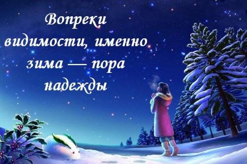 цитата о зиме 5