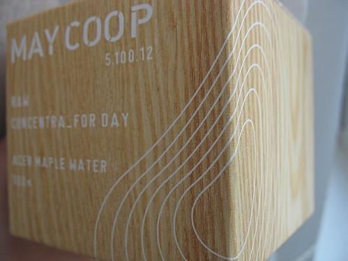 коробка дневного крема MayCoop