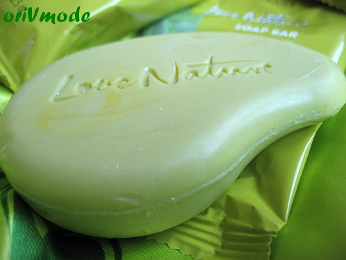 Soap Love Nature Olive Oil Aloe Vera