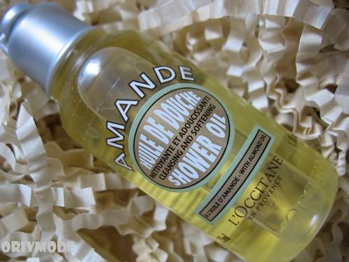L'OCCITANE – Масло для душа миндальное