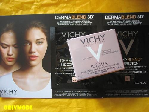 VICHY – Дневной крем-уход для преображения качества кожи IDEALIA