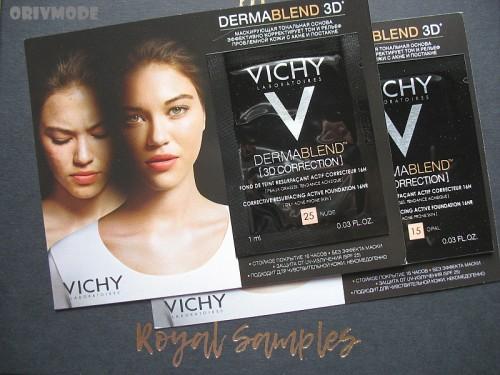VICHY – Маскирующая тональная основа DERMABLEND 3D Correction