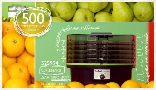 Код 525994 Сушилка для фруктов и овощей