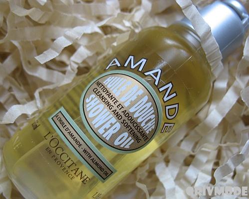 L'OCCITANE Миндальное масло для душа